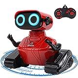 GILOBABY RC Roboter Spielzeug , Ferngesteuertes Autos Spielzeug , Fahrzeuge des Lernens und der Ausbildungs Technik, Ferngesteuertes Roboter mit Lichtern/Ton , Geschenke für Kinder 3 4 5 6 7 8 Jahre