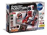 Clementoni 52261 59031 Galileo Science – Evolution Roboter, Robotik für kleine Ingenieure, Einstieg in die Elektronik, High-Tech für Schulkinder, Spielzeug für Kinder ab 8 Jahren