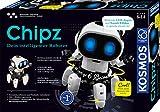 Kosmos 621001 - Chipz - Dein intelligenter Roboter, mit 6 Beinen, folgt Bewegungen, weicht Hindernissen aus, Licht- und Soundeffekte, Roboter Spielzeug, Bausatz, Experimentierkasten für Kinder ab 8 Jahren