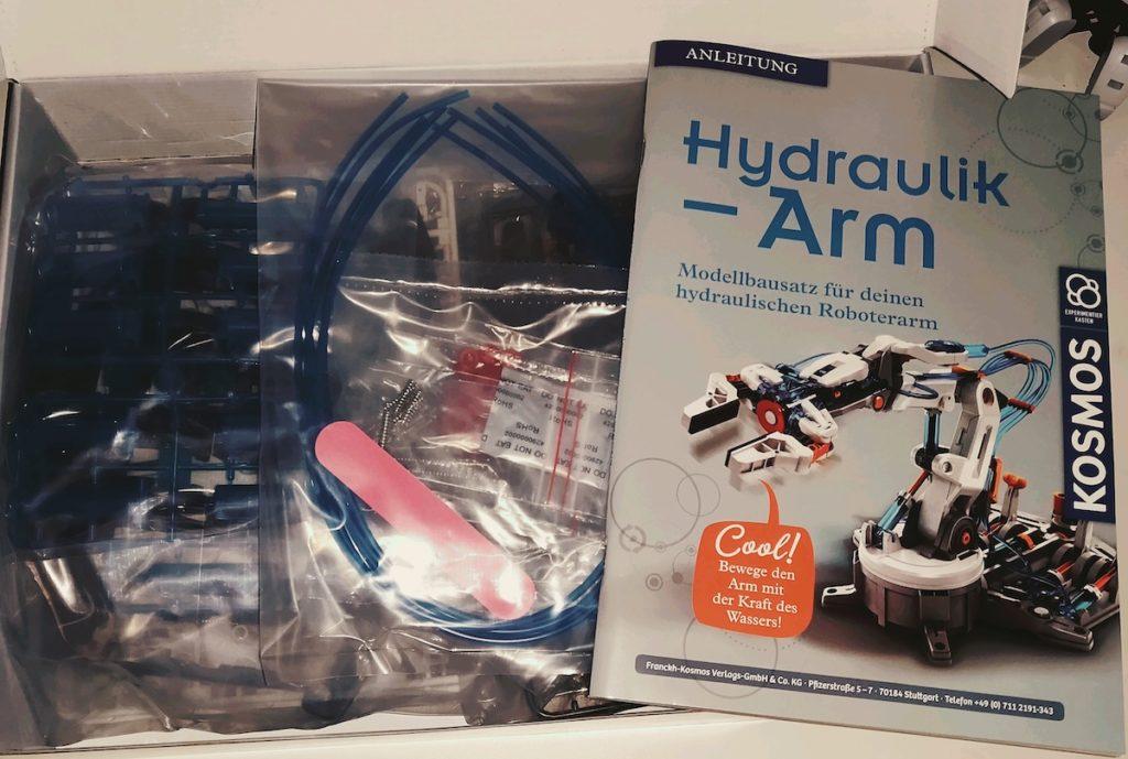 Kosmos Hydraulik-Arm Lieferumfang