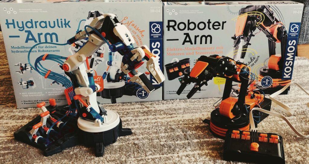 Kosmos Hydraulik-Arm und Roboterarm