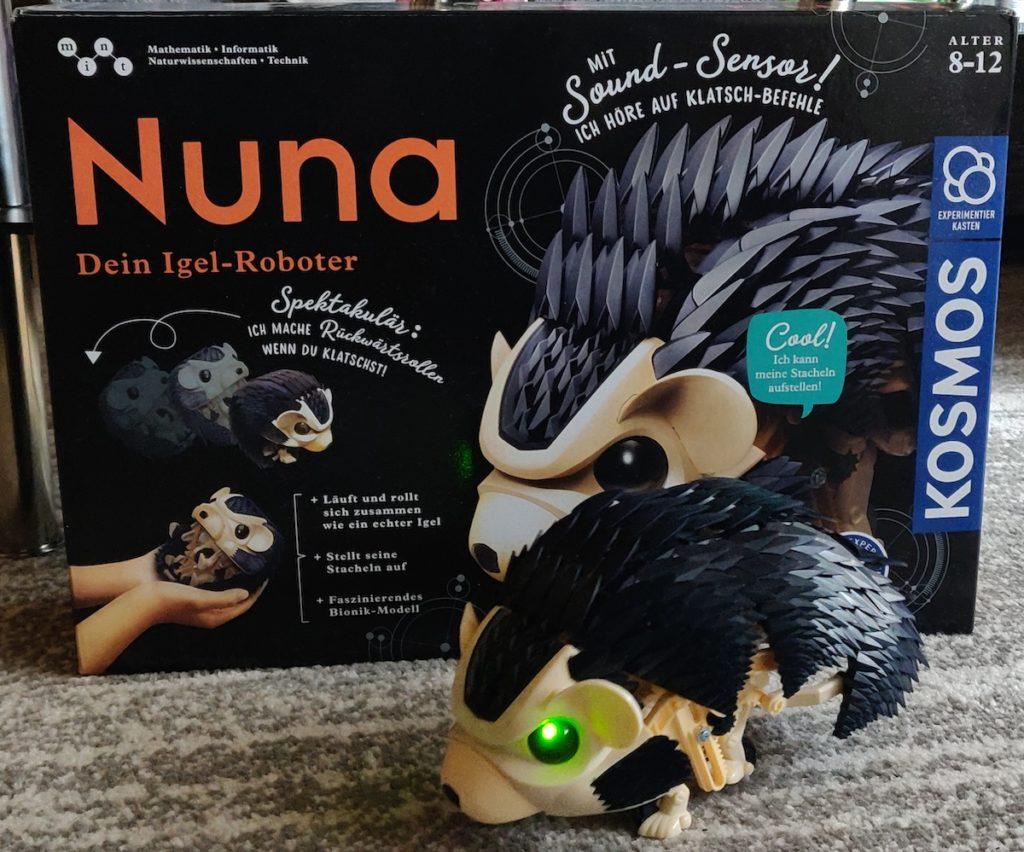 Kosmos Nuna aufgebaut