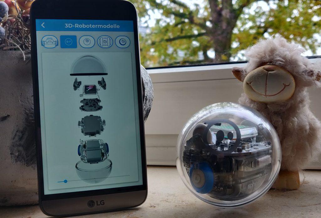 Sphero Bolt 3D Modell