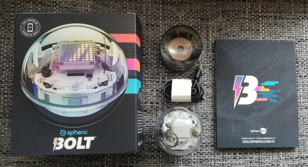 Sphero Bolt Lieferumfang