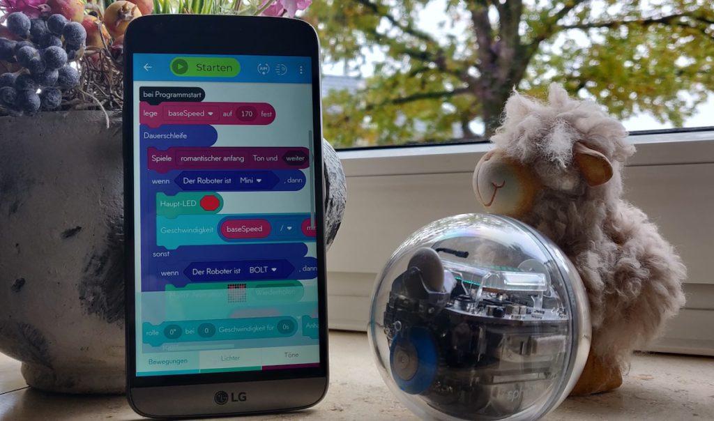 Sphero Bolt Programmierung