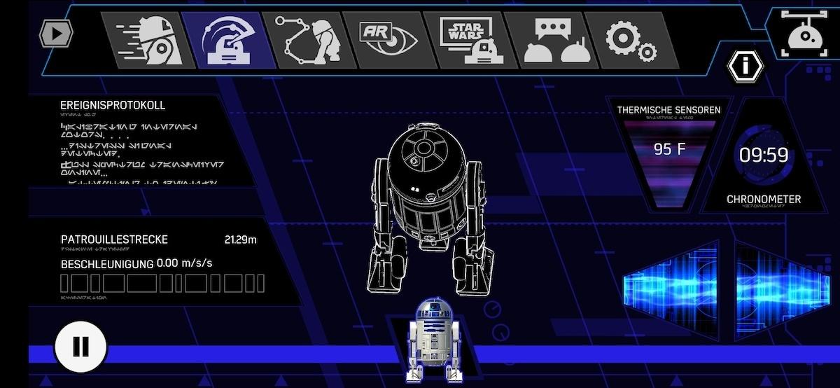 Sphero R2D2 Patrouille